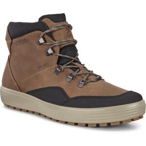 ECCO Soft 7 Tred Stiefel Sneaker Herren black/navajo brown black/navajo brown