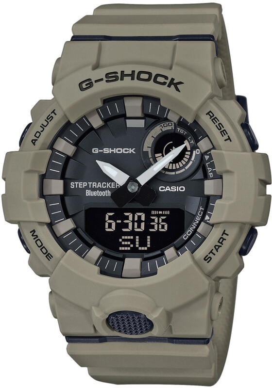 CASIO G-SHOCK GBA-800UC-5AER Smartwatch Men brown/brown/black Fitness Armbänder  GBA-800UC-5AER