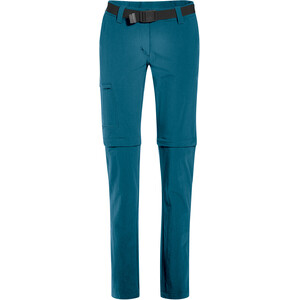 Maier Sports Inara Slim Zip-Off Hosen Damen turquoise turquoise