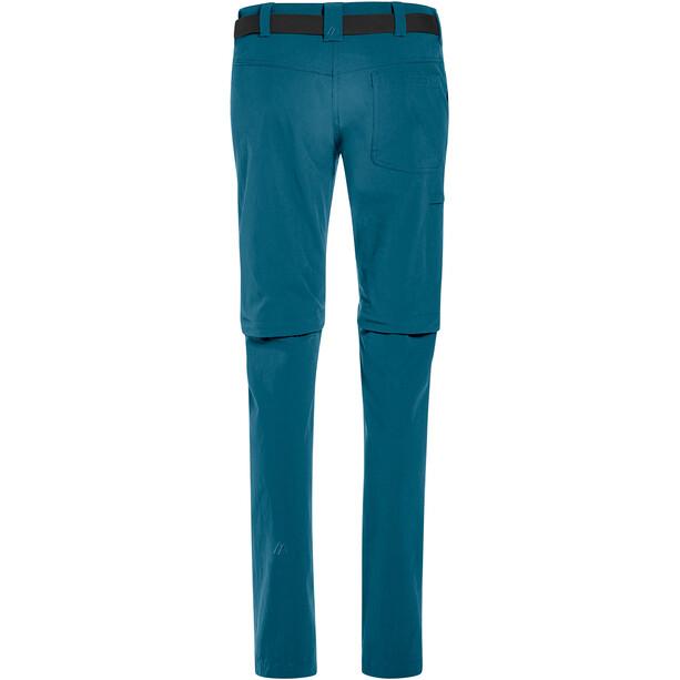 Maier Sports Inara Slim Zip-Off Hosen Damen turquoise