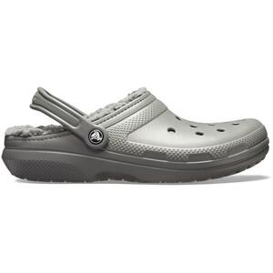Crocs Classic Lined Clogs slate grey/smoke slate grey/smoke