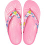 Crocs Kadee II Printed Flips Damen tropical floral/pink lemonade