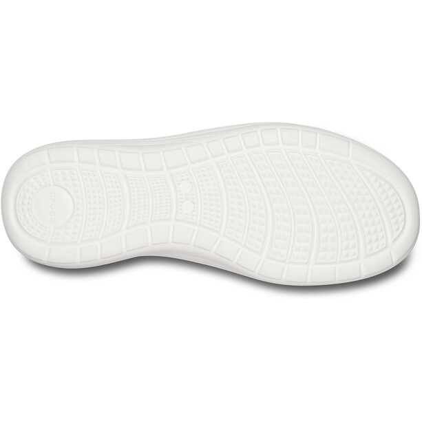 Crocs Reviva Flat Sandalen Damen black/white