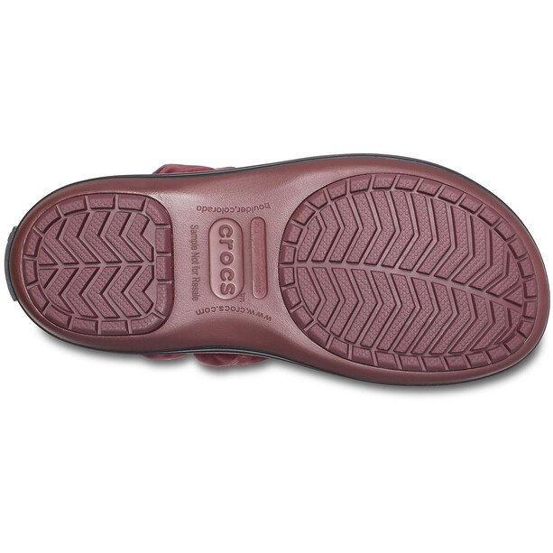 Crocs Winter Puff Stiefel Damen burgundy/black