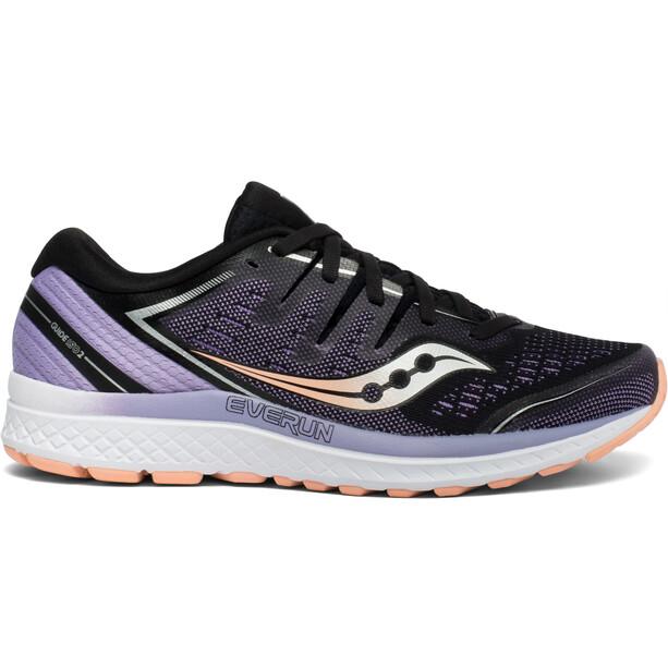 saucony Guide ISO 2 Schuhe Damen black/purple