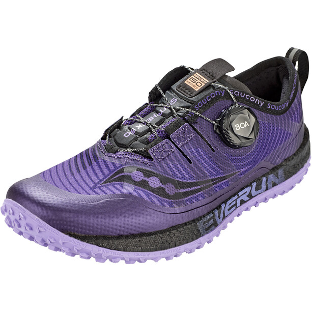 saucony Switchback ISO Kengät Naiset, purple/black