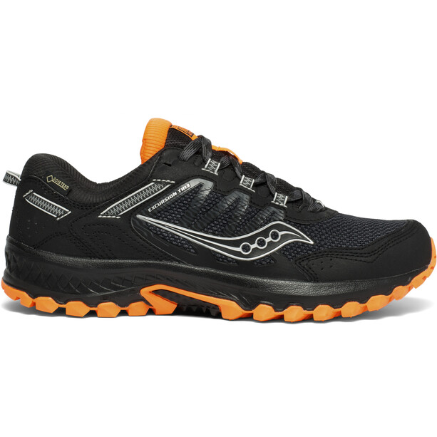 saucony Excursion TR13 GTX Schuhe Herren schwarz/orange
