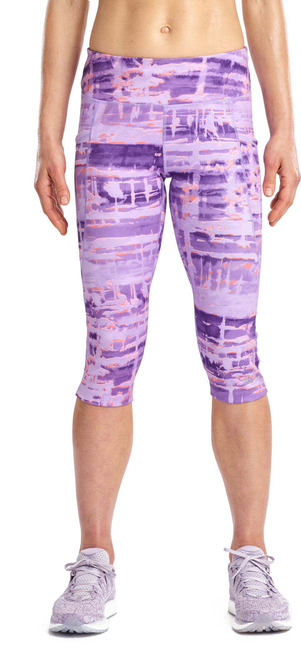 saucony Bullet 2.0 Capri Shorts Women violet indigo