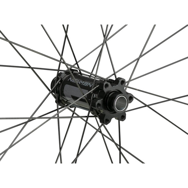 "NEWMEN Evolution SL A.35 Vorderrad 29"" 15x100mm 6-Loch Gen2 black anodised/grey"