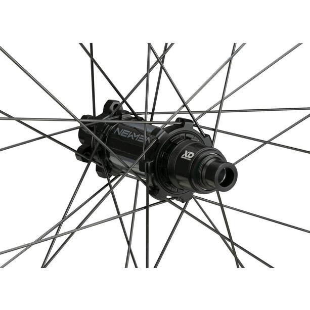 "NEWMEN Evolution SL A.35 Hinterrad 29"" 12x142mm 6-Loch SRAM XD Gen2 black anodised/grey"