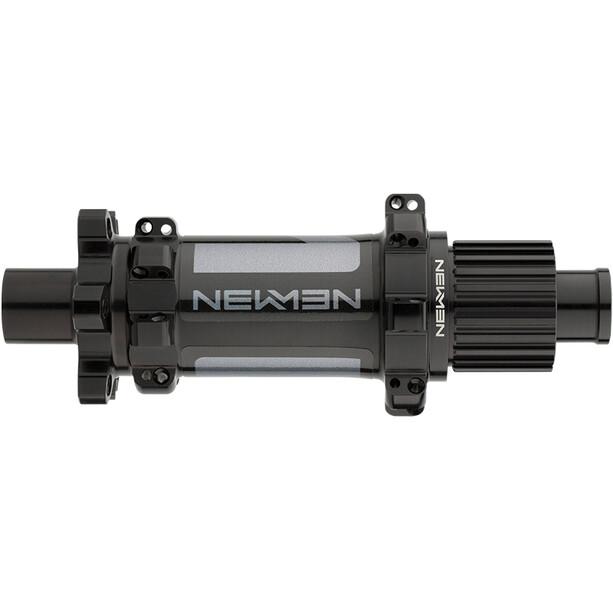 NEWMEN MTB Rear Hub 12x148mm 6-Bolt Shimano MicroSpline Gen2 black anodised/grey