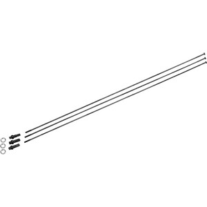 NEWMEN MTB SP D-Light Speichensatz 306mm black black