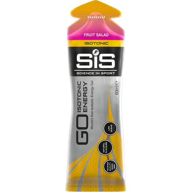 SiS GO Isotonic Energy Gel Box 30x60ml Pink Salad