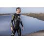 Z3R0D Vanguard Wetsuit Herren schwarz/gelb