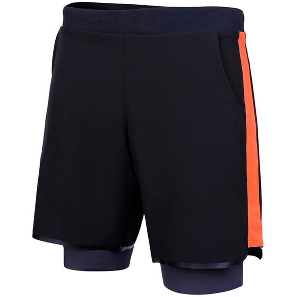 Zone3 Rx3 Compression 2-in-1 Shorts Herren black orange
