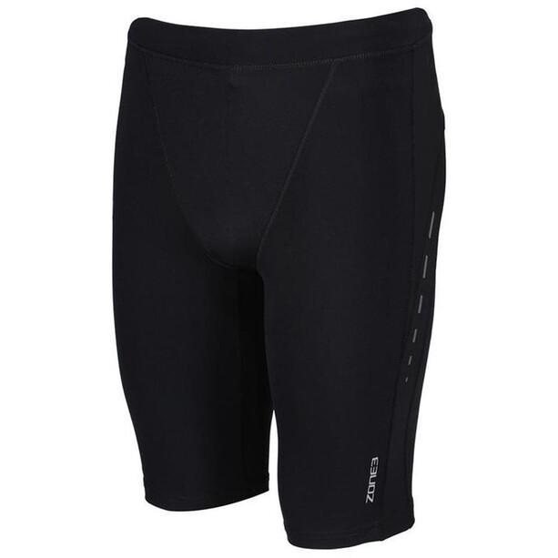 Zone3 Compression Shorts Herren black/gun metal