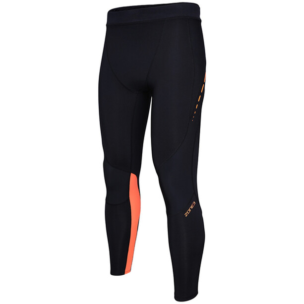 Zone3 Rx3 Compression Tights Herr black/neon orange