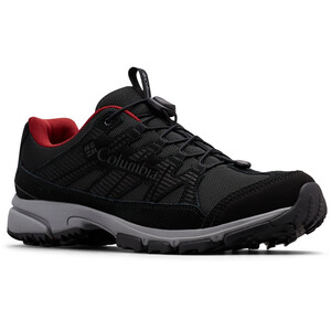 Columbia Five Forks WP Schuhe Herren black/red jasper black/red jasper