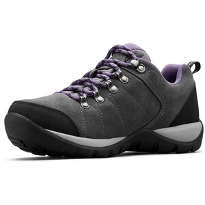 Columbia Fire Venture S II WP Schuhe Damen titanium MHW/plum purple titanium MHW/plum purple