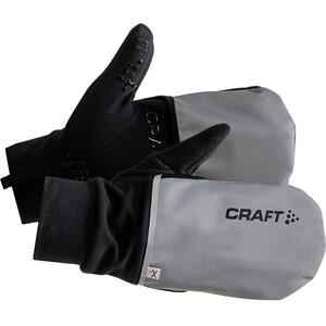 Craft Hybrid Weather Handschuhe silver/black silver/black