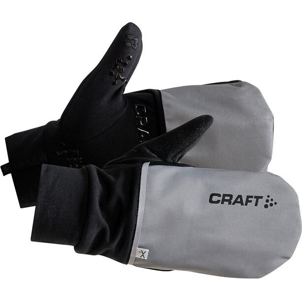 Craft Hybrid Weather Handschuhe silver/black