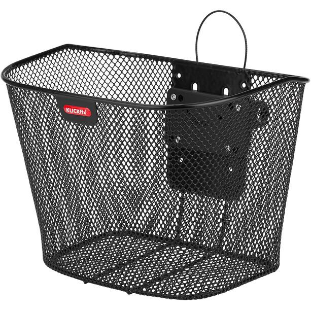 KlickFix Fixed Basket incl. Holder svart