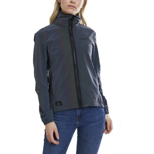 Craft Ride Leuchtjacke Damen multi/black multi/black