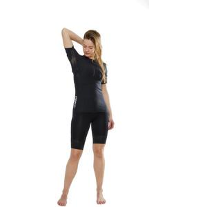 Craft CTM Rundhals Kurzarmshirt Damen black black