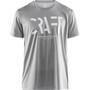 Craft Eaze Kurzarm Mesh T-Shirt Herren monument