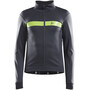 Craft Route Jacke Herren asphalt/acid