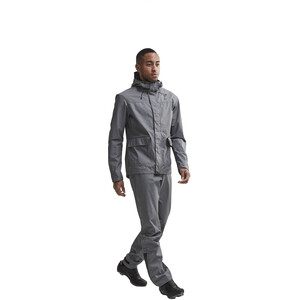 Craft Ride Precip Jacke Herren dark grey melange dark grey melange