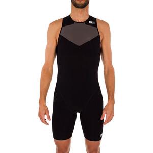 Z3R0D Elite Triathlon-puku Miehet, black series black series