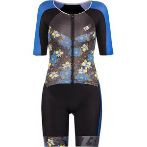 Z3R0D Racer Time Trial Triathlon-puku Naiset, musta/sininen musta/sininen