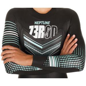 Z3R0D Neptune Märkäpuku Naiset, black/turquoise black/turquoise