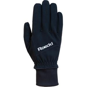 Roeckl WS Fahrrad Handschuhe schwarz schwarz