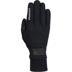 Roeckl GTX Fahrrad Handschuhe schwarz schwarz