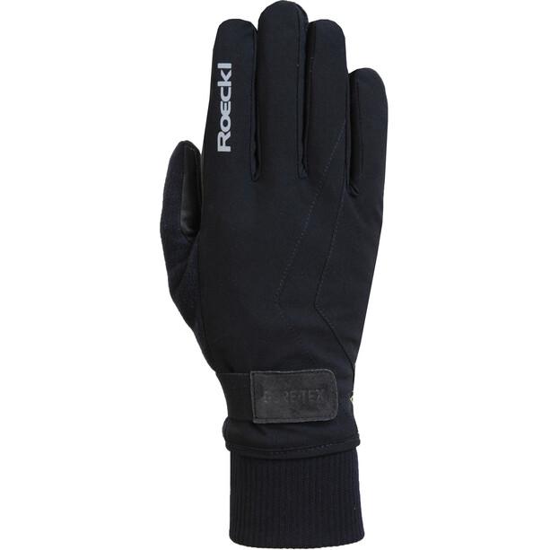 Roeckl GTX Fahrrad Handschuhe schwarz