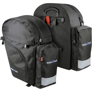 KlickFix Rucksack Packtaschen schwarz schwarz