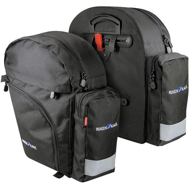 KlickFix Rucksack Packtaschen schwarz
