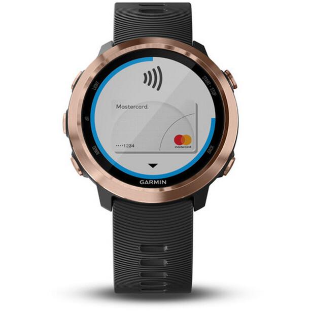 Garmin Forerunner 645 Music GPS Smartwatch rose gold/black
