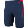 speedo Boom Splice Jammers Herr navy/lava red