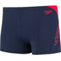 speedo Boom Splice Aquashorts Herren navy/lava red
