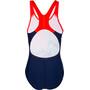 speedo OrigamiWave Placement Digital Badeanzug Mädchen navy/red
