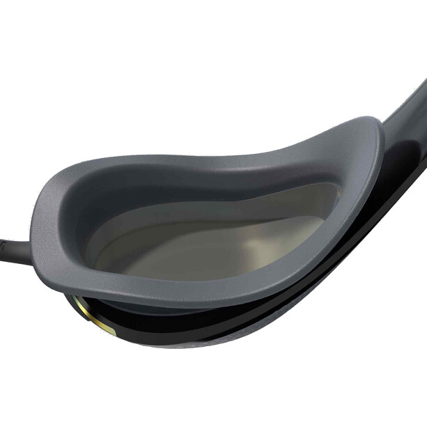 speedo Fastskin Pure Focus Mirror Swimglasses svart