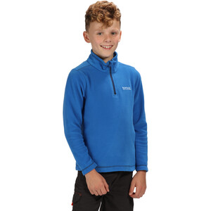 Regatta Hot Shot II Fleece Pullover Kinder oxford blue/navy oxford blue/navy