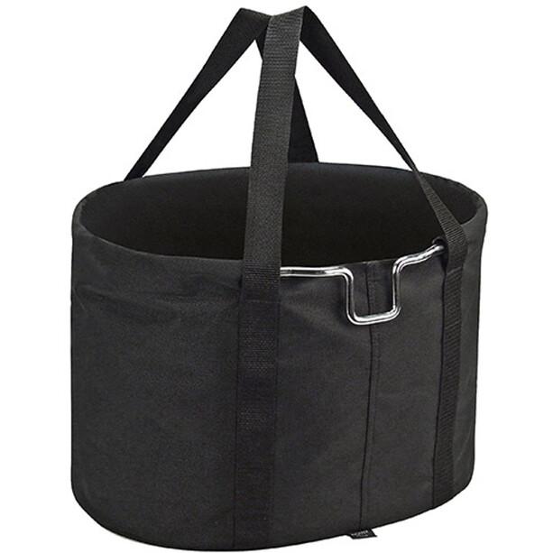 KlickFix Shopper Lenkertasche schwarz
