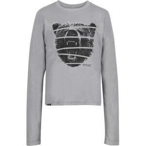 Regatta Wendell Langarm Shirt Jungen rock grey rock grey