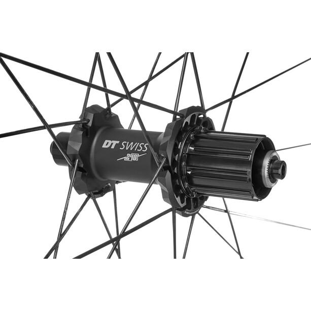 DT Swiss PR 1400 Dicut 21 Hinterrad 130/5mm Alu graphite