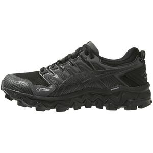 asics Gel-FujiTrabuco 7 G-TX Schuhe Damen black/dark grey black/dark grey