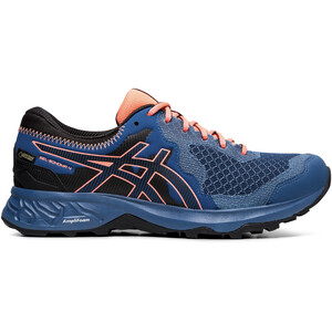 asics Gel-Sonoma 4 G-TX Shoes Women mako blue/sun coral mako blue/sun coral
